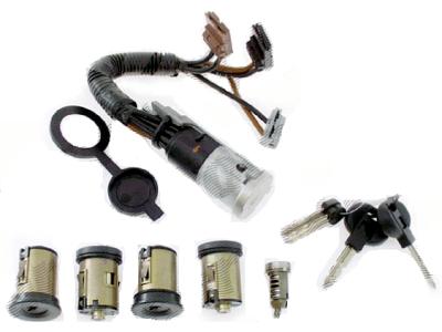 Vložek ključavnice (set) Citroen Xantia 93-, OEM