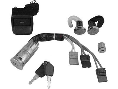 Vložek ključavnice (set) Peugeot 306 93-01 HB, 5707Z-01