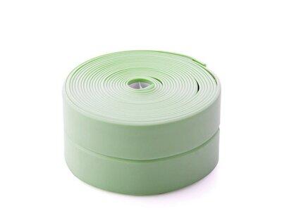 Vodootporna traka za kupaonicu i kuhinju, 3.4 m x 38 mm, zelena