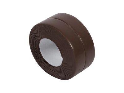 Vodootporna traka za kupatilo i kuhinju, 3.4 m x 38 mm, crna
