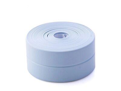 Vodootporna traka za kupatilo i kuhinju, 3.4 m x 38 mm, plava