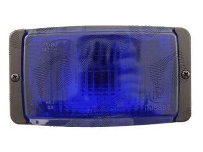 Warnlicht 138x78x68mm blau