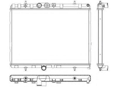 Wasserkühler Citroen C2 03-