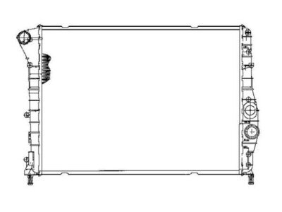 Wasserkühler ALFA 147 JTD DENSO/VALEO Typ