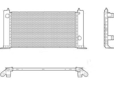 Wasserkühler Fiat Stilo 01-