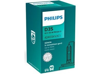 Xenon sijalica D3S Philips X-TremeVision 4800K - PH42403XV2C1