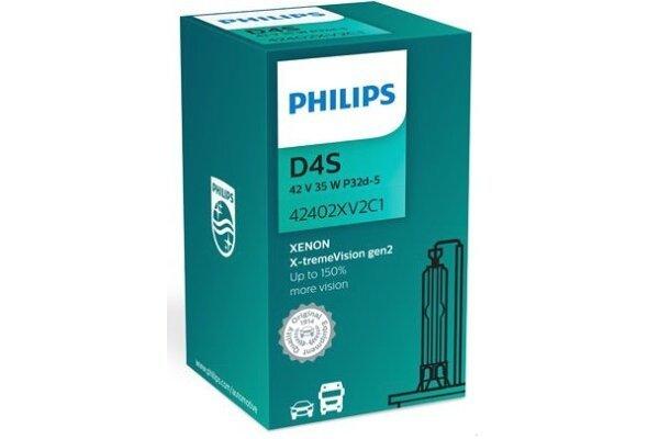 Xenon sijalica D4S Philips X-TremeVision 4800K - PH42402XV2C1