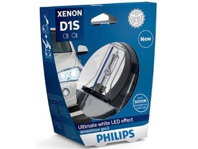 Xenon žarnica D1S Philips WhiteVision 5000K - PH85415WHV2S1