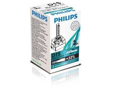 Xenon žarnica D1S Philips X-TremeVision 4800K - PH85415XVC1
