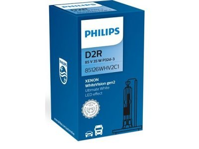 Xenon žarnica D2R Philips WhiteVision 5000K - PH85126WHV2C1
