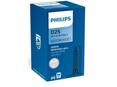 Xenon žarnica D2S Philips WhiteVision 5000K - PH85122WHV2C1