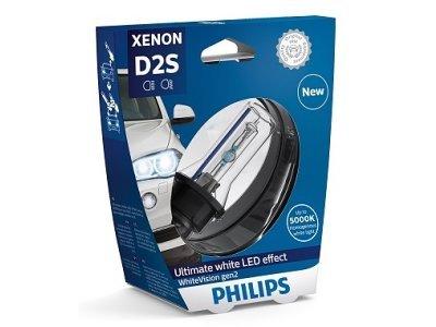 Xenon žarnica D2S Philips WhiteVision 5000K - PH85122WHV2S1