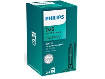 Xenon žarnica D2S Philips X-TremeVision 4800K - PH85122XV2C1