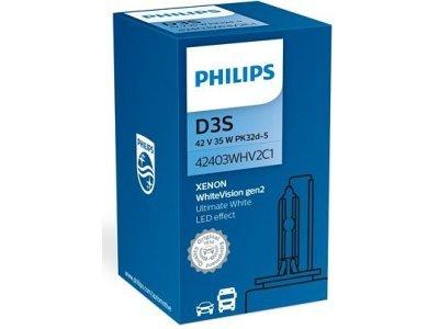 Xenon žarnica D3S Philips WhiteVision 5000K - PH42403WHV2C1