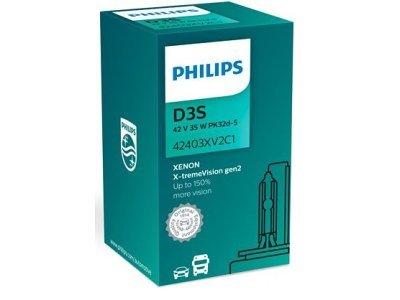 Xenon žarnica D3S Philips X-TremeVision 4800K - PH42403XV2C1
