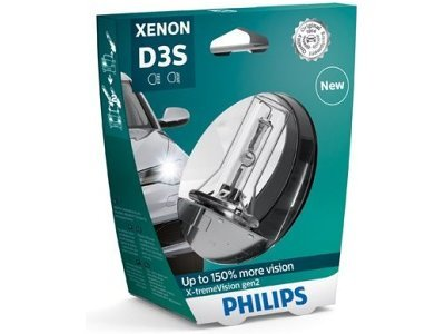 Xenon žarnica D3S Philips X-TremeVision 4800K - PH42403XV2S1