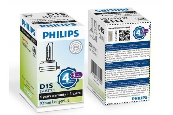 Xenon Žarulja D1S Philips LongerLife 4300K - PH85415SYC1