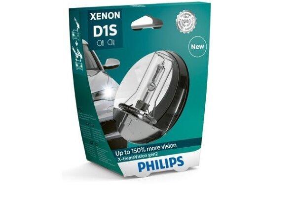 Xenon Žarulja D1S Philips X-TremeVision 4800K - PH85415XV2S1