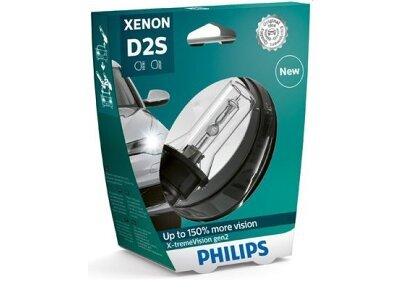 Xenon Žarulja D2S Philips X-TremeVision 4800K - PH85122XV2S1