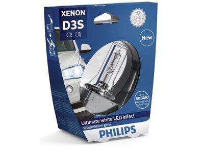 Xenon Žarulja D3S Philips WhiteVision 5000K - PH42403WHV2S1