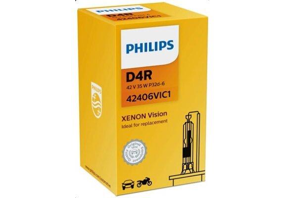 Xenon Žarulja D4R Philips Vision 4600K - PH42406VIC1