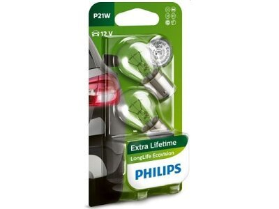Zadnja sijalica P21W Philips - PH12498LLECOB2 (2 kosa)