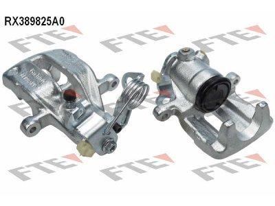 Zadnje čeljusti kočnica 167681 - Audi A4 94-00