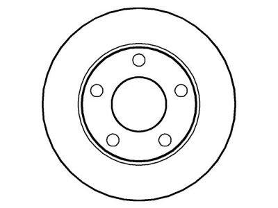 Zadnje disk kočnice IEBD2746 - Audi A4 94-00