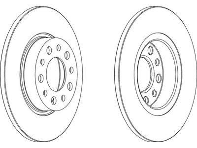 Zadnje disk kočnice S71-1467 - Alfa Romeo 159 05-12