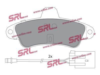 Zadnje obloge kočnica S70-1375 - Ford Mondeo 93-00