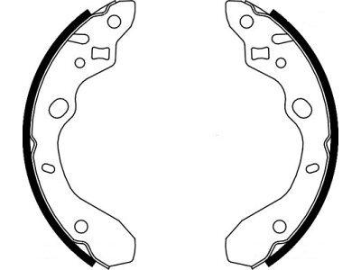 Zadnje zavorne čeljusti LS1855 -  Mazda 323 98-04