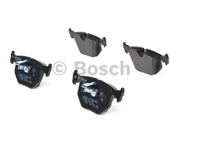 Zadnje zavorne obloge BS0986494006 - BMW Z8 00-03