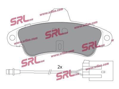 Zadnje zavorne obloge S70-1375 - Ford Mondeo 93-00