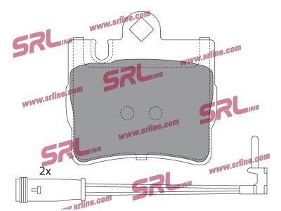 Zadnje zavorne obloge S70-1499 - Mercedes-Benz Razred S 98-06