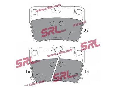 Zadnje zavorne obloge S70-1567 - Toyota Rav4 00-06