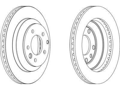Zadnji diskovi za kočnice S71-1518 - Volkswagen Touareg 02-