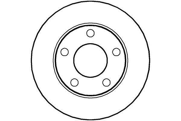 Zadnji kočioni diskovi IEBD2746 - Audi A4 94-00