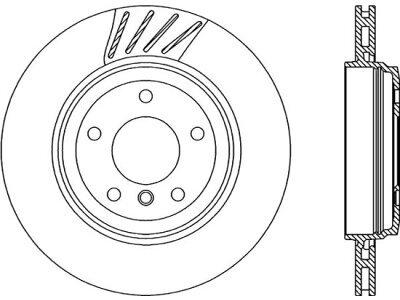Zadnji kočioni diskovi S71-1495 - BMW Serije 3 (E46) 98-06