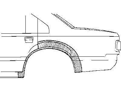 Zadnji rub Ford Scorpio -95