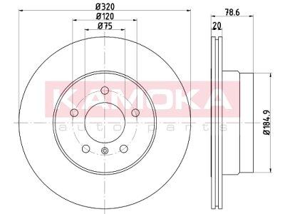 Zadnji zavorni diski 103216 - BMW X5 06-18