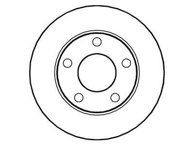 Zadnji zavorni diski IEBD2746 - Audi A4 94-00