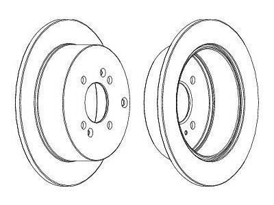 Zadnji zavorni diski S71-1321 - Hyundai i20 08-14