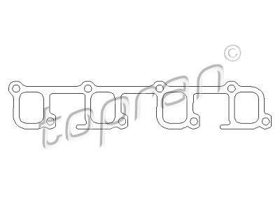 Zaptivač usisne grane Opel Astra F 91-98, papir