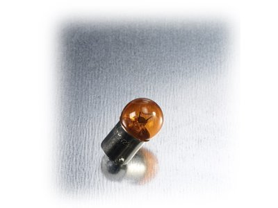 Žarnica Bottari, 12V-23W, BA15S, oranžna