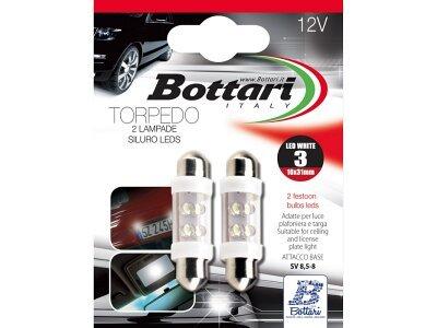 Žarnica Bottari LED bela, 12V, 2 kosa