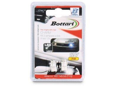 Žarnica Bottari LED bela T10, 12V, 2 kosa