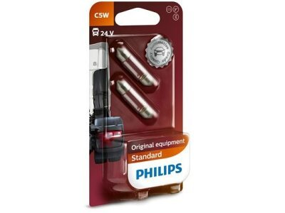 Žarnica C5W 24V Philips - PH13844B2 (2 kosa)