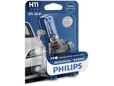 Žarnica H11 Philips WhiteVision - PH12362WHVB1