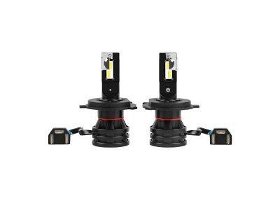 Žarnica H4 LED, 6500K, 55W, 12-24V, mini model, najnovejša tehnologija, 2 kosa