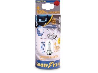 Žarnica H7 12V-55W Goodyear, kristalno bela, dva kosa